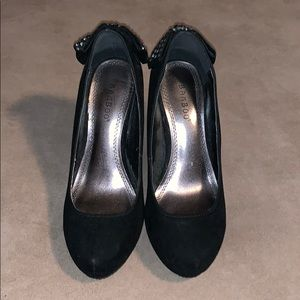 BAMBOO Shoes - Bamboo black heels